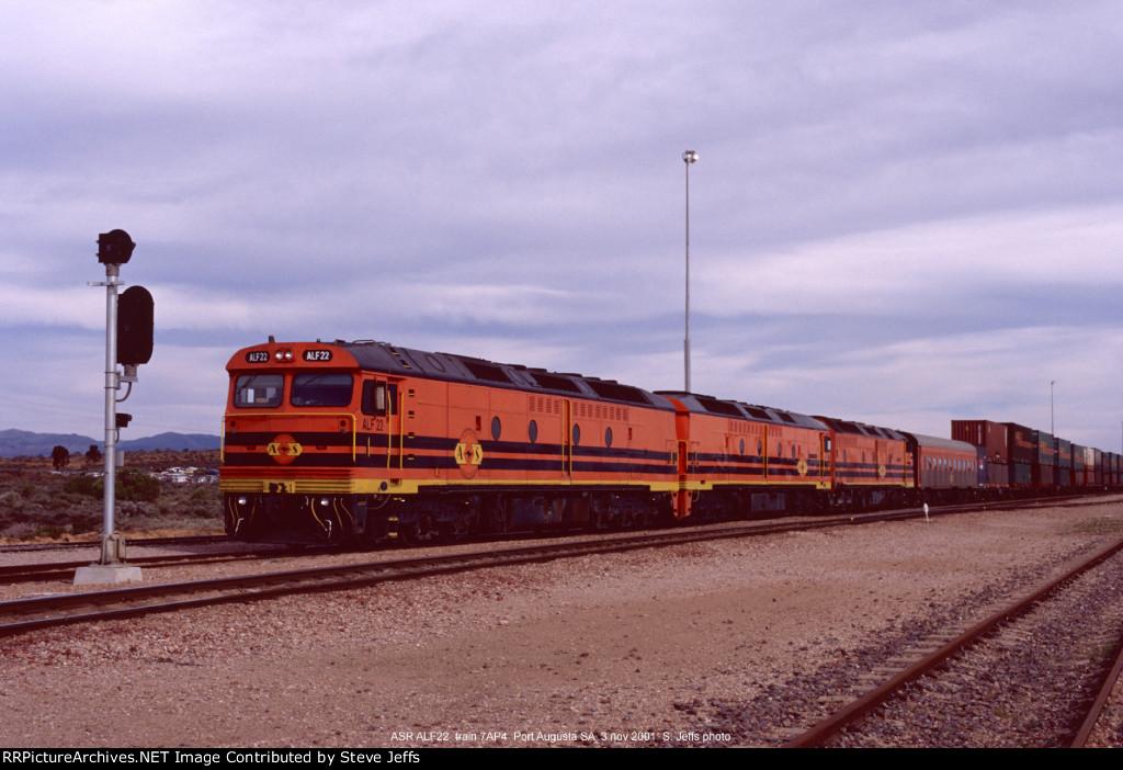 ASR ALF22 train 7AP4