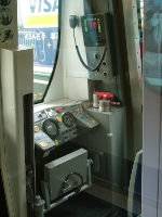 Cab view of Mod train