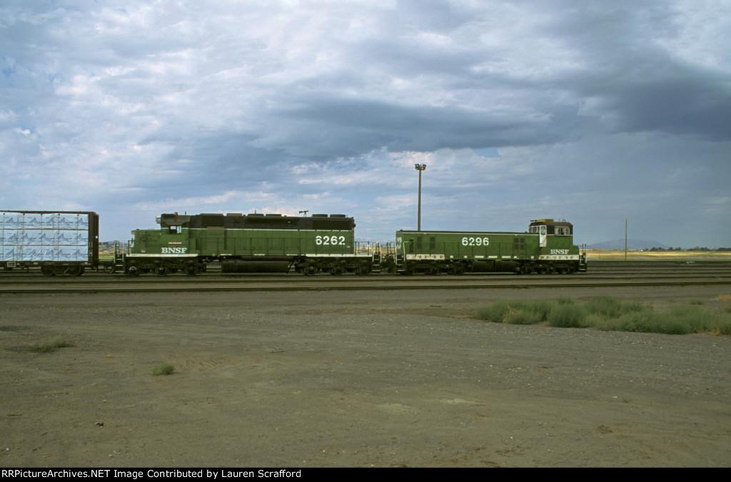 BNSF 6262 Hump