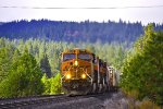 BNSF 6749 EB UP Roseville (Donner Pass) Sub