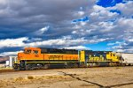 BNSF 103 163 WB UP Nevada (Truckee River Canyon) Sub