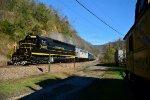 75th santa train north bound move