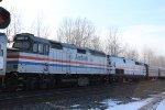 """AMTK 406 on Amtrak 48 """"Lake Shore Limited"""""""