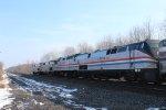 """AMTK 822 on Amtrak """"Lake Shore Limited"""""""