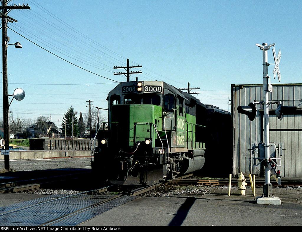 BNSF 3008 West