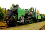 1055 2-8-2 at Steam Locomotive Museum Finland