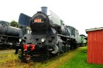 1095 2-8-2 at Steam Locomotive Museum Finland
