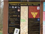 Rail Trail map
