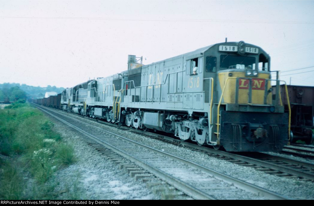 Southbound L&N coal train