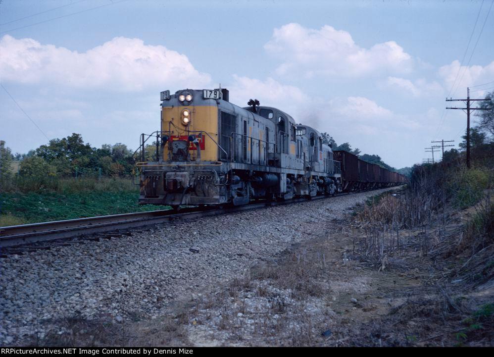 L&N RS-3's 179, 189