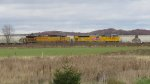 UP 9074 EMD SD70AH T4 and UP 7218 AC44CW