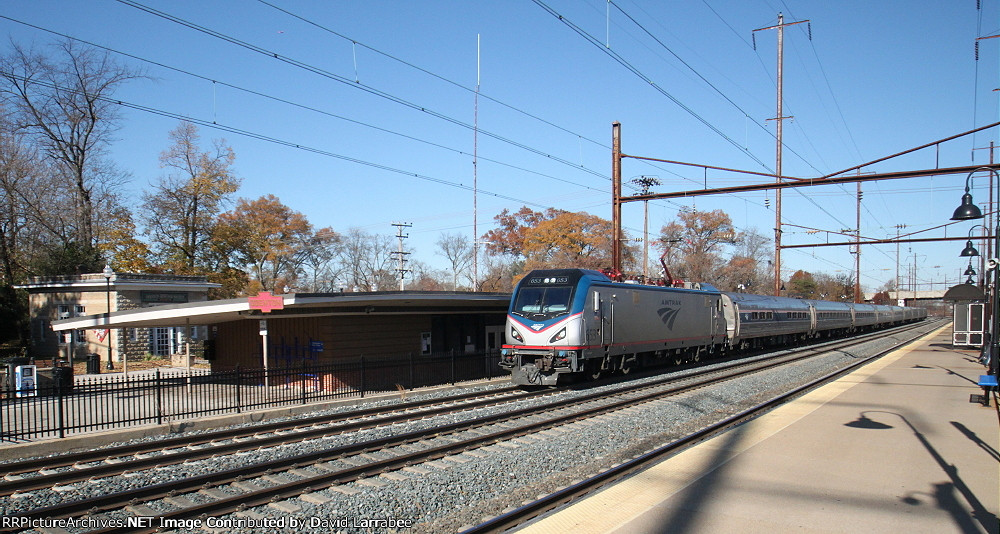 Southbound Train 143