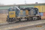CSX 8812 and 367
