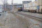 East bound on track 1