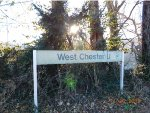 """""""West Chester U"""" SEPTA Station"""