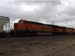 BNSF ES44DC 7438