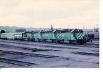 BN freight train