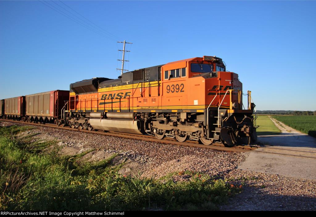 BNSF 9392 - DPU