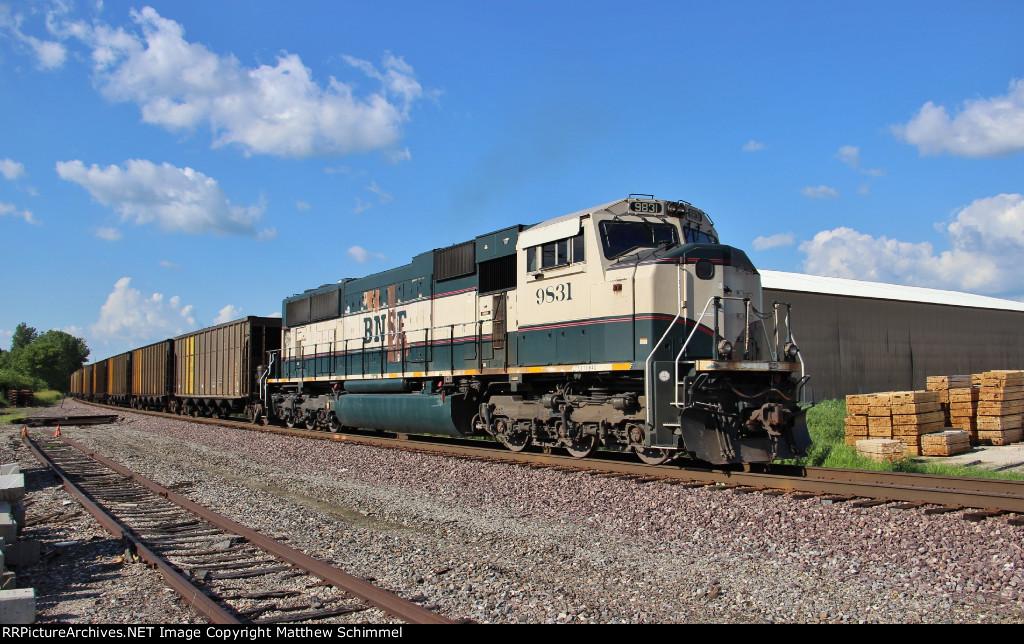 BNSF 9831 - DPU