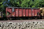 Covered BNSF Ballast Hopper