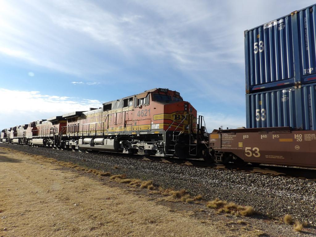 BNSF C44-9W 4621