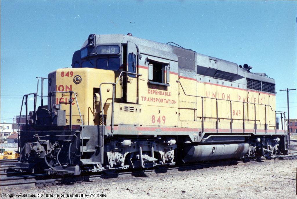 UP GP30 849