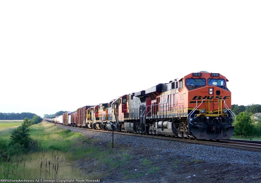 BNSF 7612