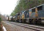 CSX SD50-2 8501 runs fourth