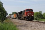 CN 2829 & 3031 lead L502 toward Pontiac and eventually Flat Rock