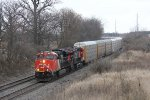 M399 rolls west across the Flint Sub heading for Battle Creek