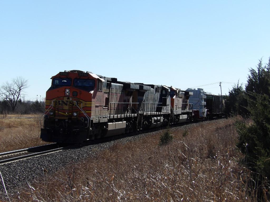 BNSF C44-9W 5480