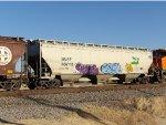 BNSF 486111/BN Heritage Hopper