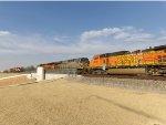 CREX ES44AC 1402 & BNSF C44-9W 4070