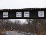 Bridge signage