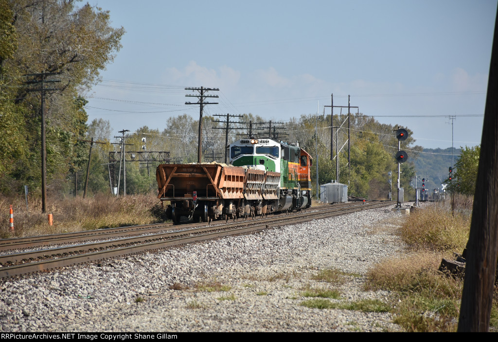 BNSF 1455 Roster.
