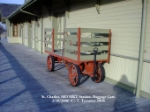 St. Charles Station - MKT Trail - Baggage Cart