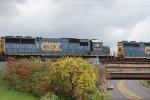 CSXT 8709 on CSX Q153