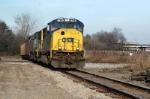 CSX loaded coal train cuts devine jct