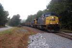 n303 passes n150 at slighs siding on the cn&l