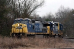 f750 with a battered csx unit heads toward sumter and the eastover sub