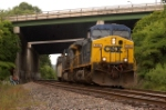 q463 waited for a mty csx coal train and p65 before he could run through elmwood jct