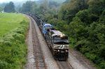 ns 743 empty coal heading to asheville