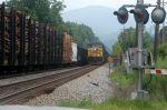 sb coal at sevier siding meets nb general frieght