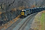 CSX 7536 is westbound at Perkins St. about 5 years ago.