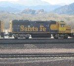 BNSF 172 trailing EB