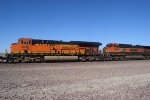 BNSF 3836 leads WB