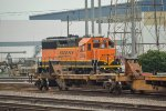 BNSF 3118 rests at Commerce