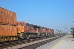 BNSF 8517 heads for points east
