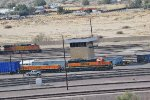 A BNSF family portrait at Barstow
