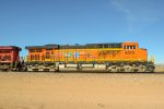 BNSF 6075 leading the hricbar